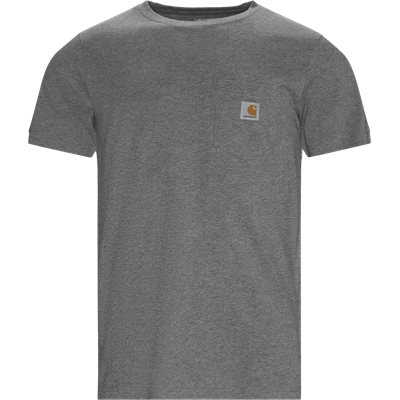 Pocket Tee Regular | Pocket Tee | Grå
